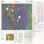 Mapa de la Densidad de Población y Grupos Étnicos de Madagascar
