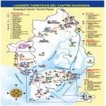 Lugo Province outline map