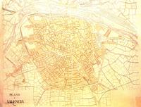 Map of Valencia 1869