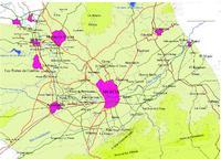 Mapa de las Áreas Israelitas Desarrolladas en Jerusalén