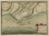 Mapa de los Campos de Batalla de la Guerra Civil Estadounidense en Virginia 1891
