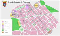Mapa de la Ciudad de Kabul, Afganistán