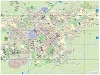 Mapa de la Ciudad de Brandeburgo, Alemania 1910