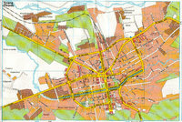 Mapa de Tirana