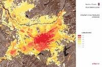 Etapas de la expansión de Tirana