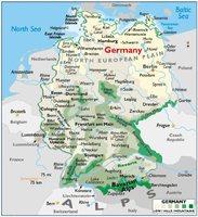 Mapa de la Actividad Económica de la Ex Alemania del Este