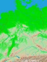 Catoctin Mountain Park Map, Maryland, United States