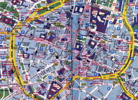 Mapa del distrito de Extramurs