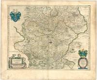 Mapa Historico de Landgraviato de Turingia 1645