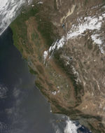 Satellite Image, Photo of Yauca and Acari River Canyons, Peru
