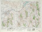 Hoja Pocatello del Mapa Topográfico de los Estados Unidos 1962
