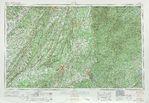 Mapa del Parque del Área Nacional de Recreación Gateway, Nueva York y Nueva Jersey, Estados Unidos