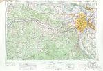 Mapa de la Ciudad de Charleston, Carolina del Sur, Estados Unidos 1671