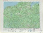 Santa Fe Trail Map, Western United States