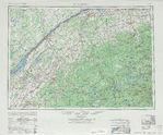 Managua Partial Map, Nicaragua 4