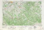 Mapa Topográfico de la Ciudad de Corinth, Misisipi, Estados Unidos