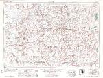 Mapa del Centro de Tijuana, Baja California Norte, Mexico
