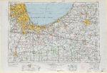 Mapa Blanco y Negro de Nebraska, Estados Unidos