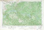 Hoja Harrison del Mapa Topográfico de los Estados Unidos 1969