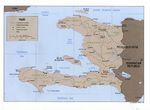 Haiti Political Map