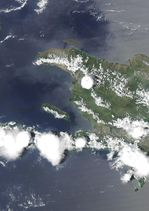 Satellite Image, Photo of Haiti