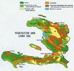 Mapa de Vegetación y Uso del Suelo Haití
