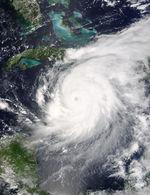 Hurricane Ivan (09L) off Jamaica