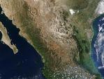 Mapa satelital de las Islas Baleares