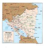 Mapa del Suroeste de Guatemala