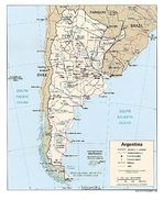 Mapa Político de Argentina