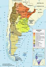 Argentina Climatic Map