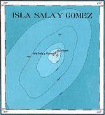 Mapa Topográfico de las Islas Sala y Gomez 1927
