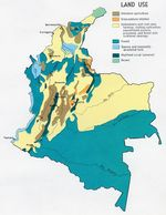 Colombia Land Use Map