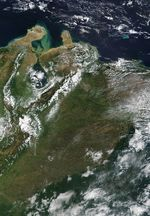 Satellite Image, Photo of Western Venezuela