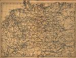 Montauban Map, France 1914