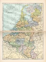 Mapa de Bélgica 1921