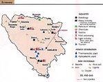 Mapa Politico Pequeña Escala de Kazajistán