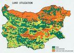 Bulgaria Land Utilization Map