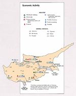Cyprus Economic Activity Map