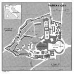 Mapa Politico de la Ciudad del Vaticano