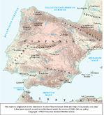 Mapa de Hispania