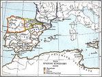 Los Reinos de España 1030 A.D.