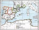 Los Reinos de España 1210 A.D.