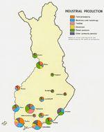 Mapa de las Industrias de Finlandia
