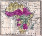 Foto, Imagen Satelite de África
