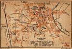 Mapa de Bourg, Francia 1914