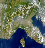 Algeria Shaded Relief Map