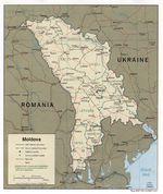 Mapa de Relieve Sombreado de Tayikistán