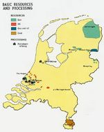 Netherlands Basic Resources and Processing Map