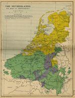 La Guerra de los Ochenta años o Guerra de Flandes, Países Bajos
